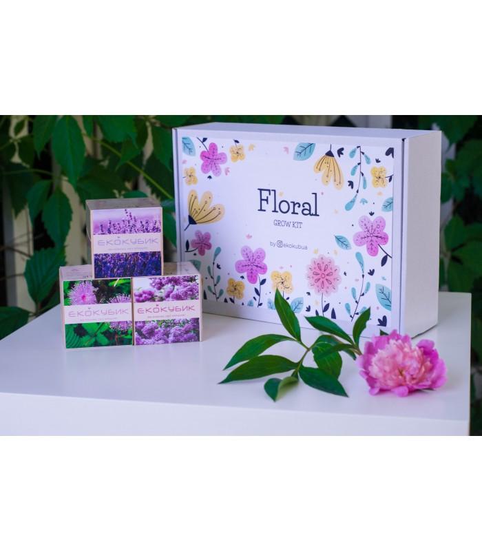 """""""Floral"""" набір з 3х  Екокубиків"""